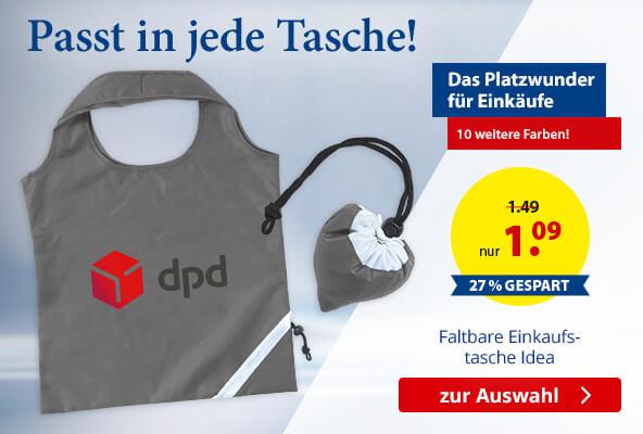 Faltbare Einkaufstasche Idea – BETTMER - Erfolgreiche Werbeartikel