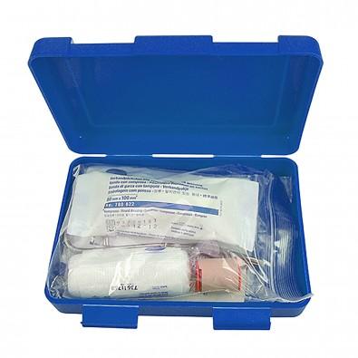 Notfall-Set Box, groß standard-blau PP