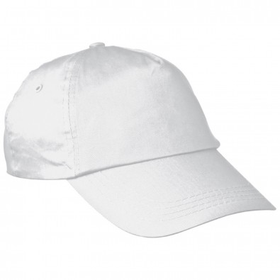 5 Panel Baseballcap New York,weiss