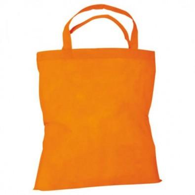 Joytex® Vliestasche Textile mit kurzen Henkeln, Orange
