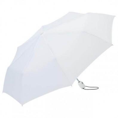 Fare® Automatik-Taschenschirm Open-Close, Weiß