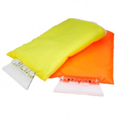 eiskratzer mit handschuh secure orange. Black Bedroom Furniture Sets. Home Design Ideas