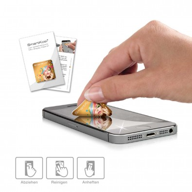 Polyclean Mini-Display-Reiniger SmartKosi 30 x 30 mm, Weiß