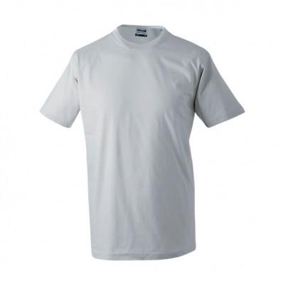 Original James & Nicholson Rundhals T-Shirt für Herren Grau | XXL