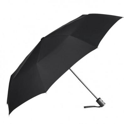 FARE® Mini-Taschenschirm Ökobrella, schwarz