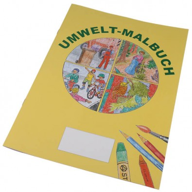 Malbuch A4 Umwelt