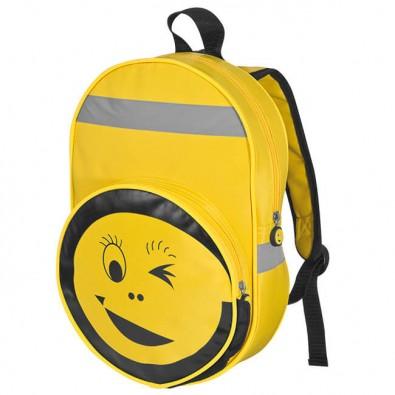 Kinder-Sicherheitsrucksack Smile Gelb