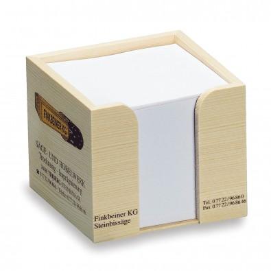 Zettelboxen aus Holz bedrucken