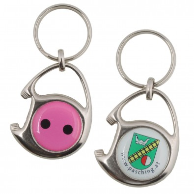 Bedrucken Sie ausgefallene Schlüsselanhänger mit Ihrem Logo – BETTMER erfolgreiche Werbeartiekl
