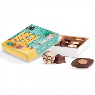 Schokolade mit Logo bedrucken bei BETTMER – Erfolgreiche Werbeartikel