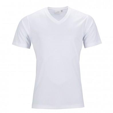 Original James  Nicholson Damen Funktions T-Shirt Active, White, XS