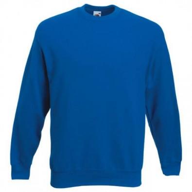 Original Fruit of the Loom® Set-In Sweat-Shirt, Royalblau, L
