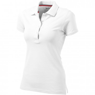 Original Slazenger Damen Polo-Shirt Advantage White | S