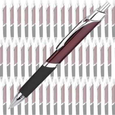 Werbe-Set:100 Metall-Kugelschreiber Triangle, Bordeaux II