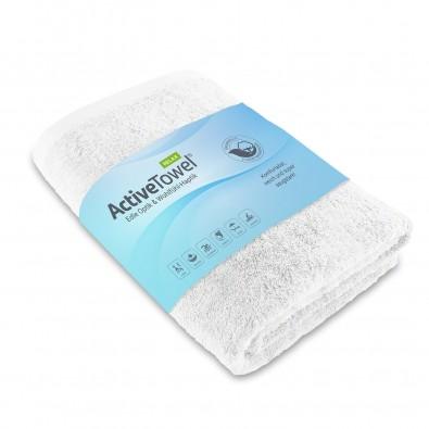 ActiveTowel® Relax Handtuch 100x50 cm, weiß