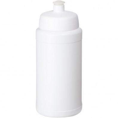 Baseline® Plus 500 ml Flasche mit Sportdeckel, weiss