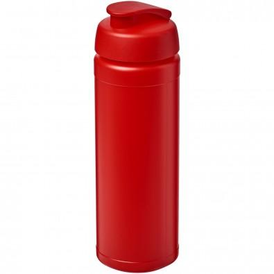 Baseline® Plus grip 750 ml Sportflasche mit Klappdeckel, rot