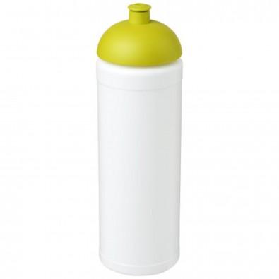 Baseline® Plus grip 750 ml Sportflasche mit Stülpdeckel, weiss,limone