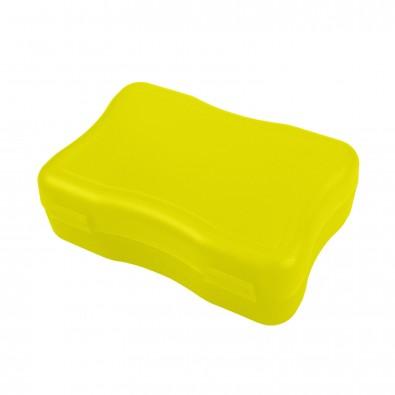 Brotzeitdose Wave, klein, trend-gelb PP