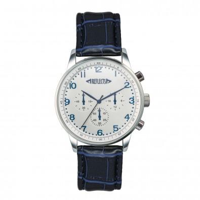 reflects® Chronograph Budget IV, dunkelblau/silber