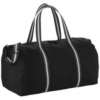 Cotton Weekender Reisetasche, schwarz