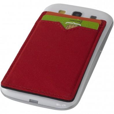 Dual Pocket RFID Telefon Kartenetui, rot