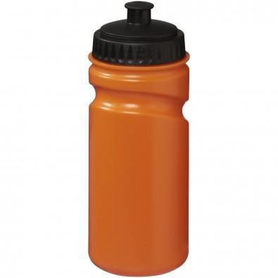 Easy Squeeze 500 ml Sportflasche - farbig, orange,schwarz