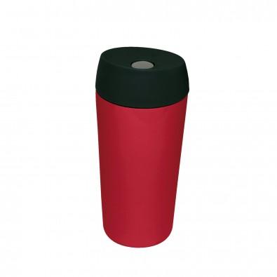 Edelstahl-Isolierbecher Style, rot glänzend