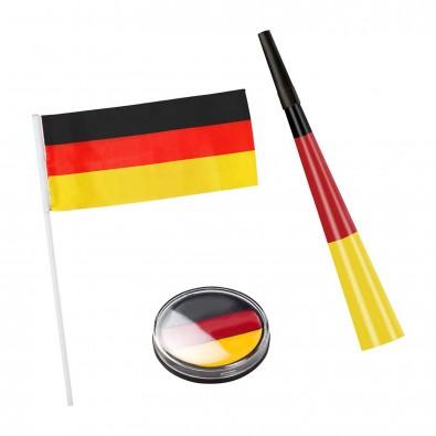 """Fanset """"Team"""", Deutschland-Farben"""