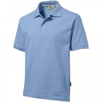 Forehand – Poloshirt für Herren, hellblau, XXL