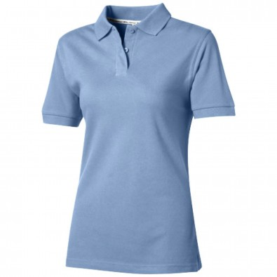 Forehand Poloshirt für Damen, hellblau, L