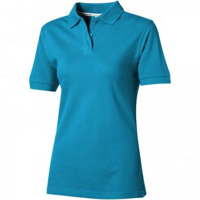 Forehand Poloshirt für Damen, türkis, S