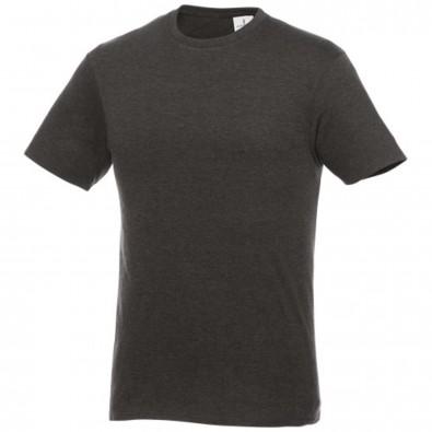 Heros kurzärmliges T-Shirt Unisex, kohle, S
