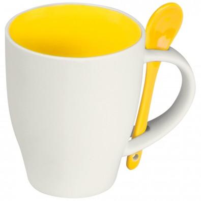 Kaffeebecher Palermo,gelb