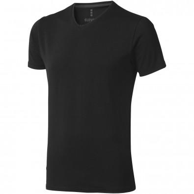 ELEVATE Herren Öko T-Shirt Kawartha, schwarz, S
