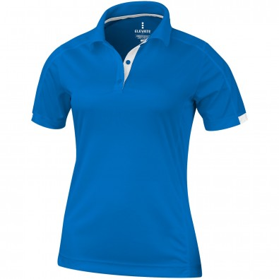 ELEVATE Damen Poloshirt Kiso cool fit, blau, M