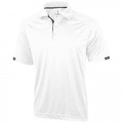 Kiso Poloshirt cool fit für Herren, weiss, XXL