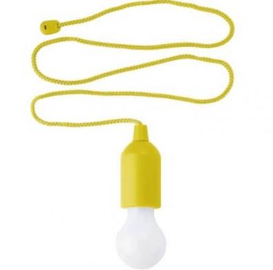 LED-Lampe Lightbulb, Gelb