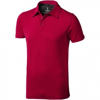 ELEVATE Herren Stretch Poloshirt Markham, rot, XL