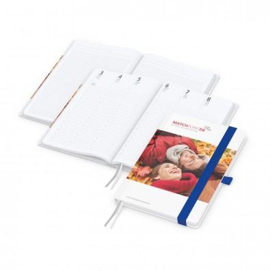 Match-Hybrid A4 Bestseller, matt-individuell, mittelblau