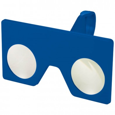 Mini Virtual Reality Brille mit Clip, royalblau