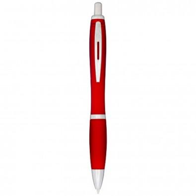 Nash frosted Kugelschreiber, rot