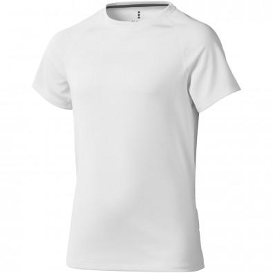 ELEVATE Kinder T-Shirt Niagara cool fit, weiß, 152