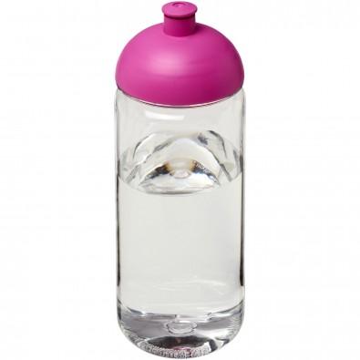 Octave Tritan™ 600 ml Sportflasche mit Stülpdeckel, transparent,rosa