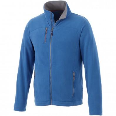 Pitch Mikro-Fleece-Jacke., himmelblau, XXXL