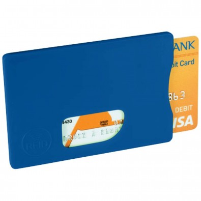 RFID Kreditkartenschutz, royalblau
