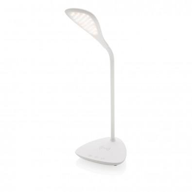 Schreibtischlampe mit 5W Wireless-Charging, weiß