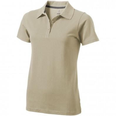 ELEVATE Damen Poloshirt Seller, khaki, S