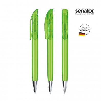 senator® Druckkugelschreiber Challenger Clear MT, grün 376