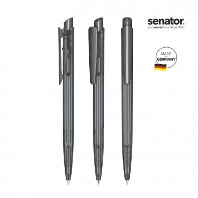 senator® Druckkugelschreiber Dart Clear, grau 445
